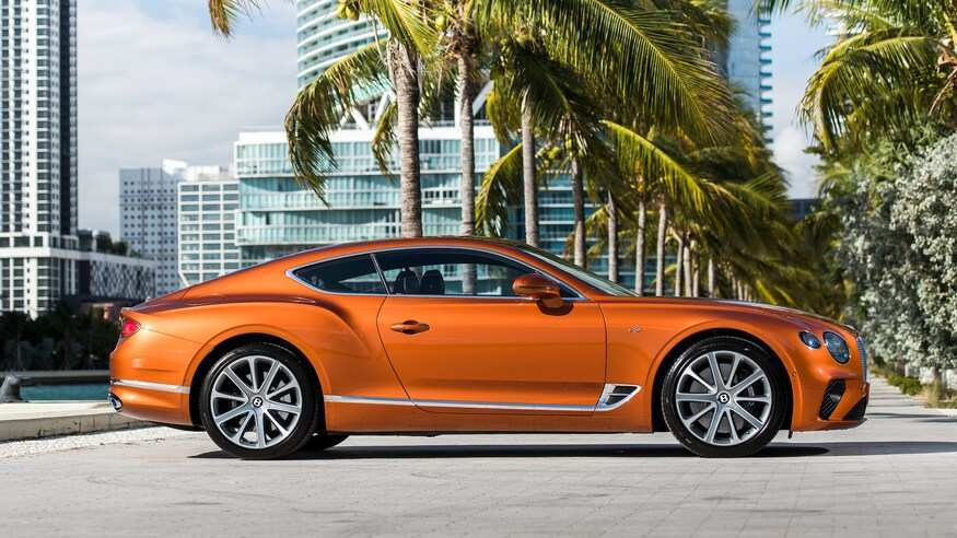 29 All New 2019 Bentley Continental Gt V8 Redesign And Review