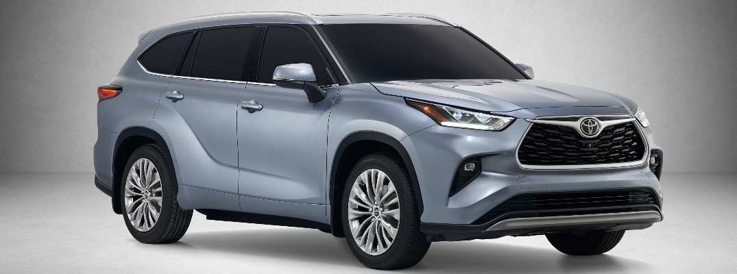 30 All New Toyota Highlander 2020 Release Date Redesign And Review