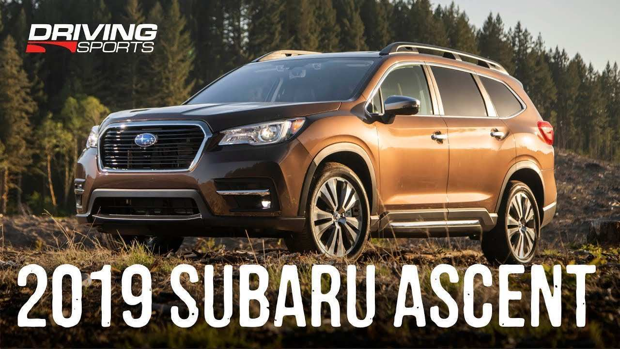 30 Best 2019 Subaru Third Row Release Date And Concept