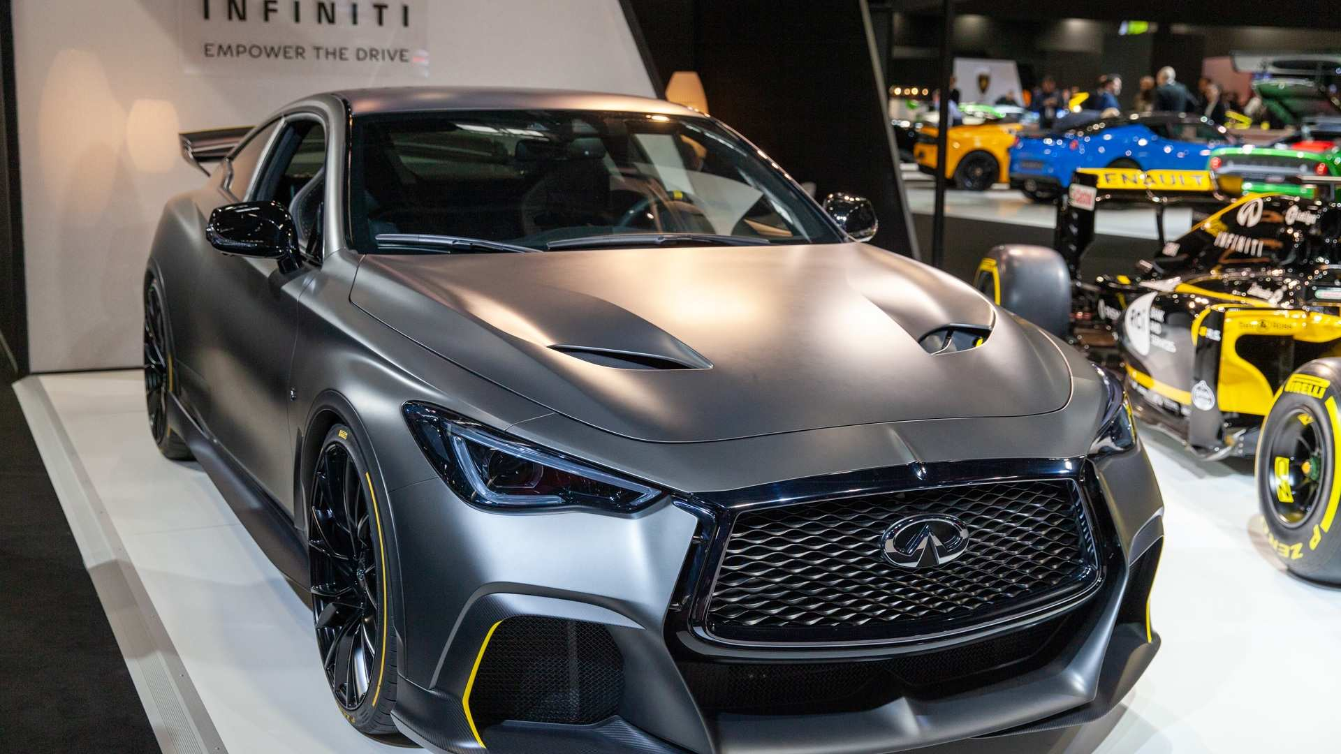 30 The Infiniti Q60 2020 Spy Shoot