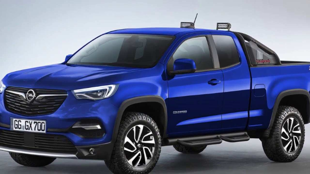31 A Opel Colorado 2020 Price And Release Date