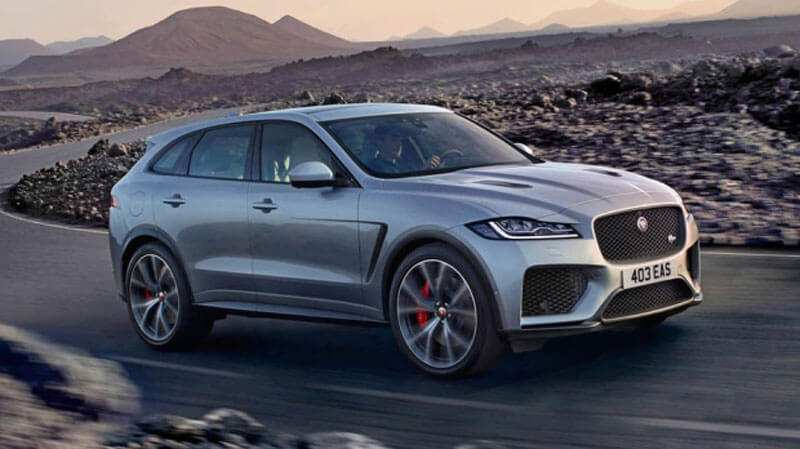 31 All New Jaguar F Pace New Model 2020 First Drive