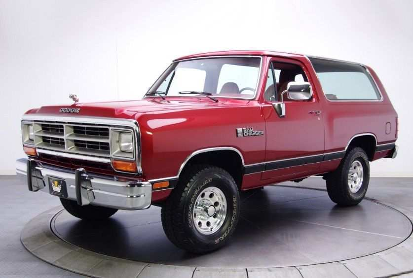 31 The Dodge Ramcharger 2020 Picture