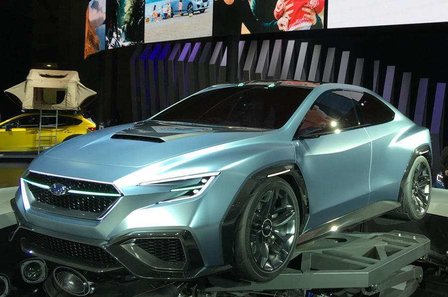31 The Subaru Concept 2020 First Drive