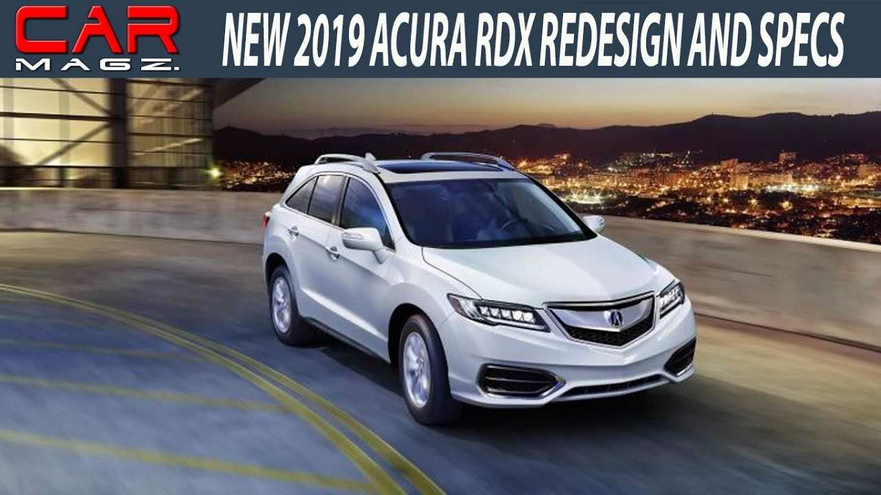 32 A 2019 Acura Rdx Rumors New Concept