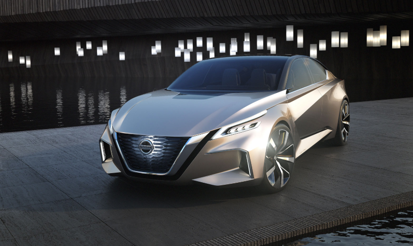 32 A 2019 Nissan Altima Rendering History