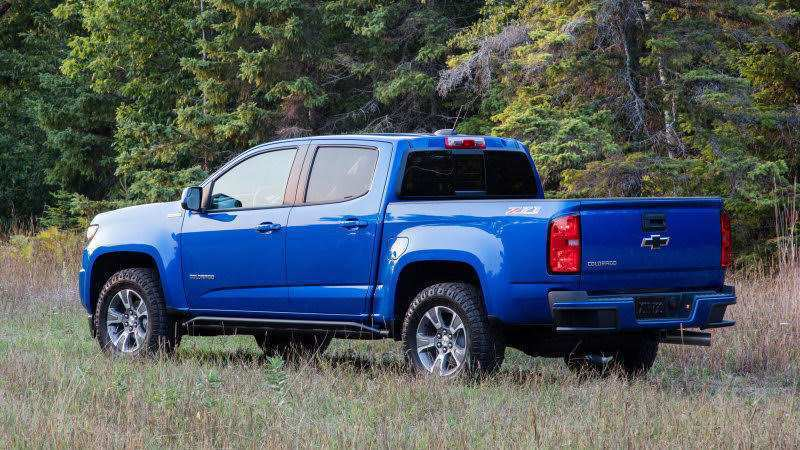 32 A 2020 Chevrolet Colorado Updates Concept