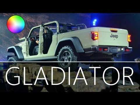 32 All New 2020 Jeep Gladiator Color Options Redesign And Concept