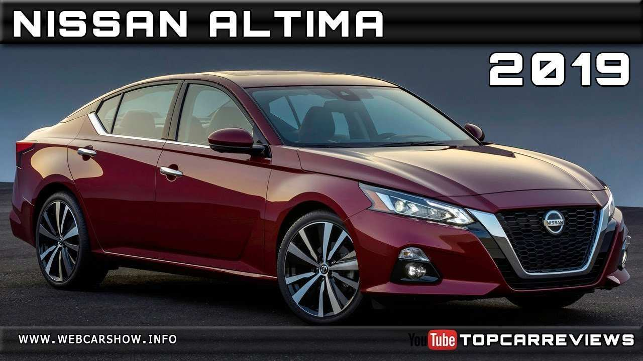 32 New 2019 Nissan Altima Rendering Picture