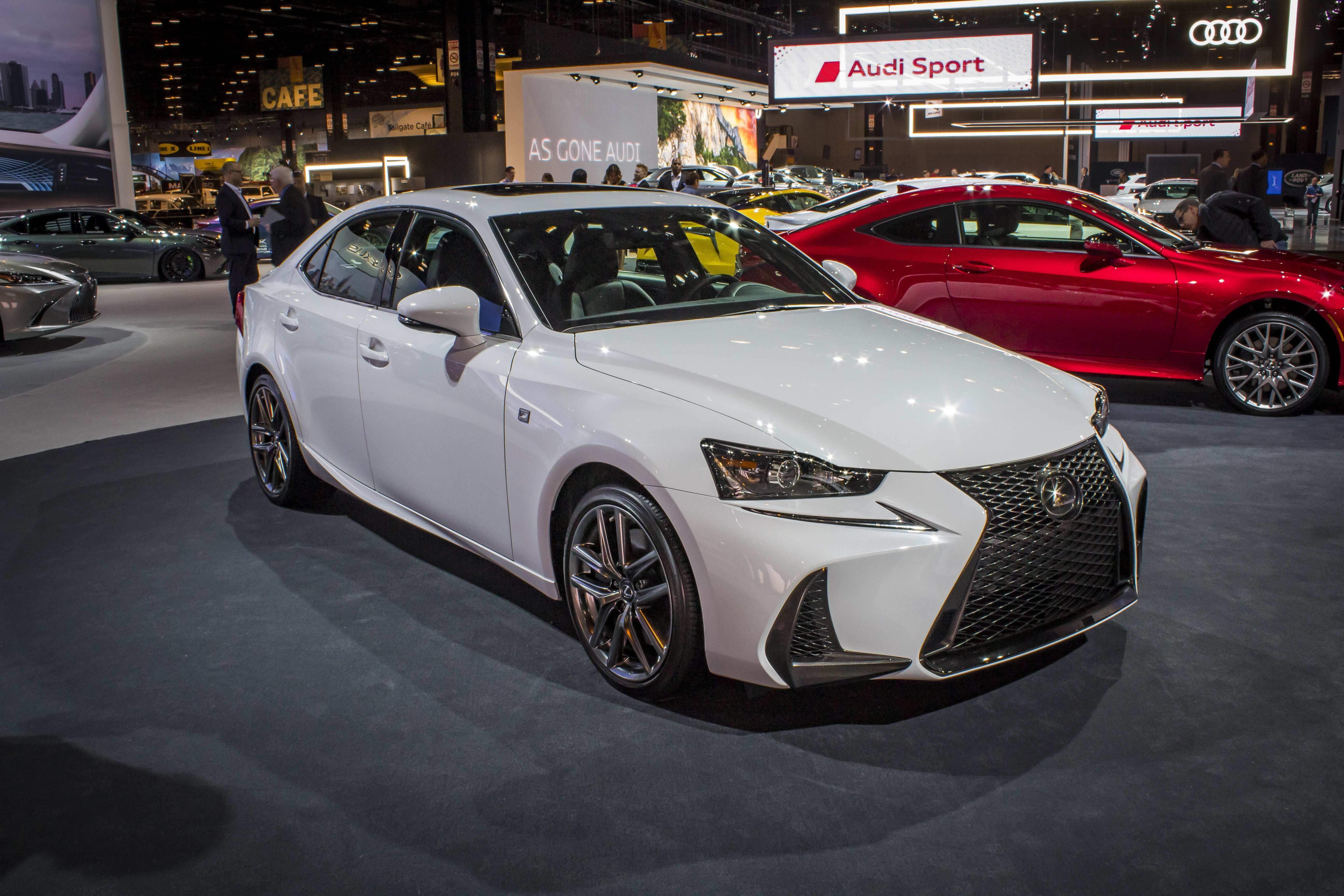 34 A 2019 Lexus Is350 F Sport History