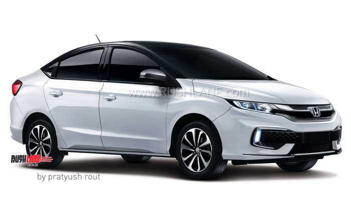 34 A Honda City Next Generation 2020 Spy Shoot