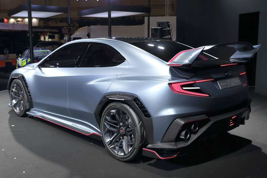 34 All New Subaru Sti 2020 Concept Exterior And Interior