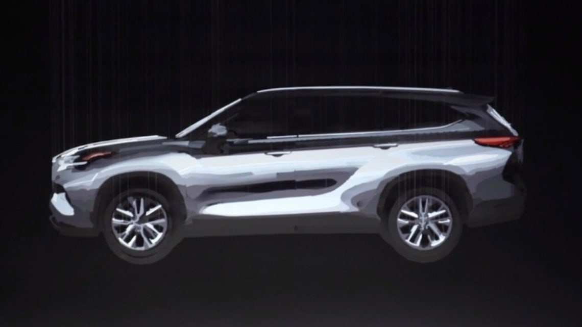 34 All New Toyota Kluger 2020 Model Redesign And Concept