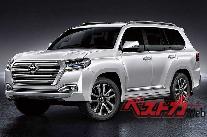 34 New Toyota New Land Cruiser 2020 Interior