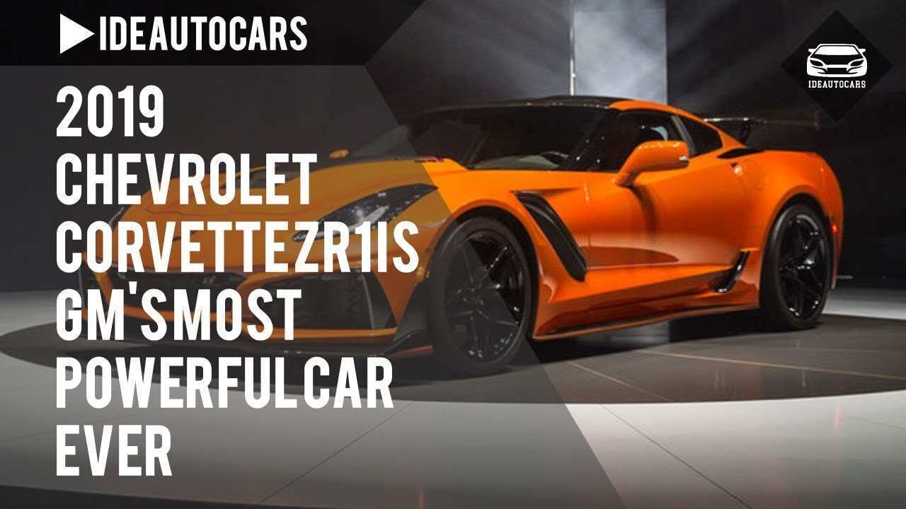 34 The 2019 Chevrolet Corvette Zr1 Is Gms Most Powerful Car Ever Price And Review