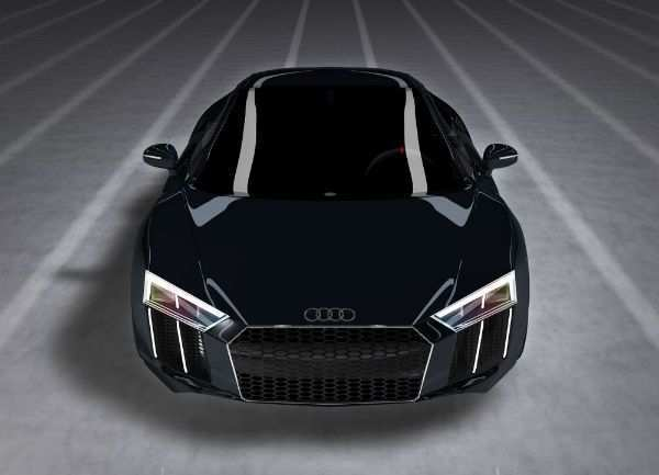 35 A Audi R8 2020 Black Performance