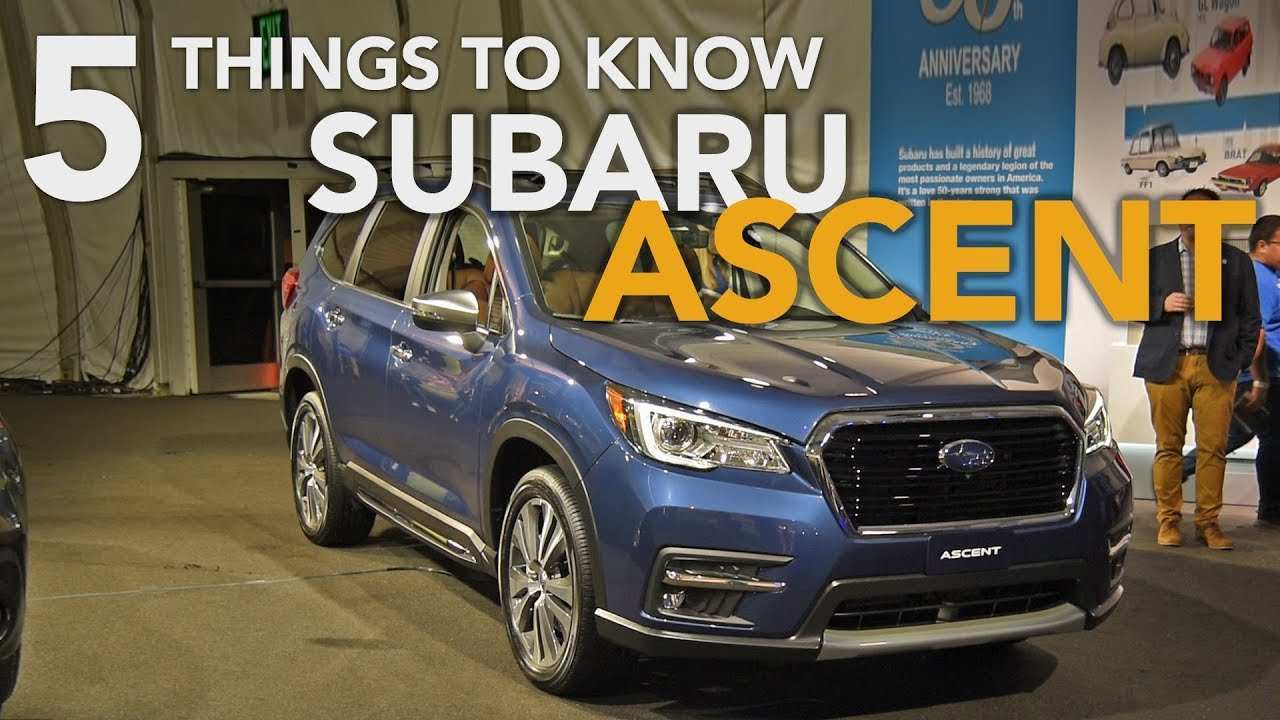 35 All New 2019 Subaru Ascent Debut Concept