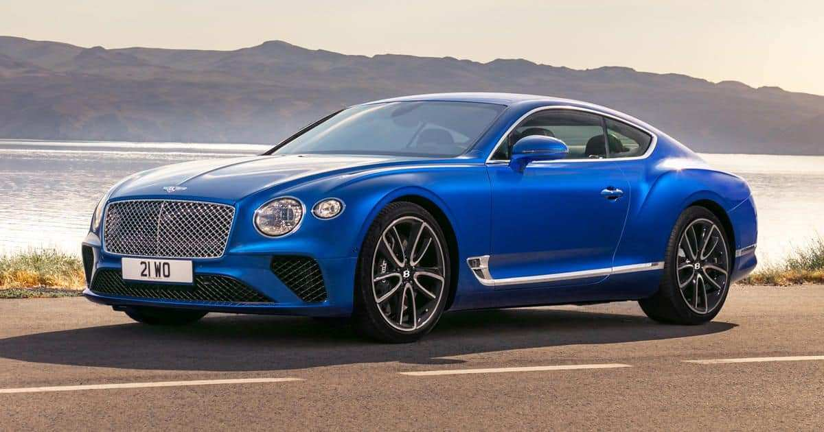 36 A 2019 Bentley Continental Gt V8 Model