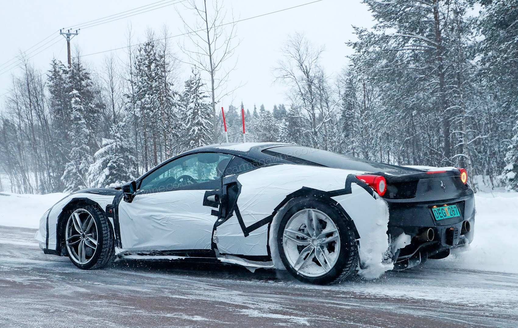 36 A 2019 Ferrari 588 Spesification