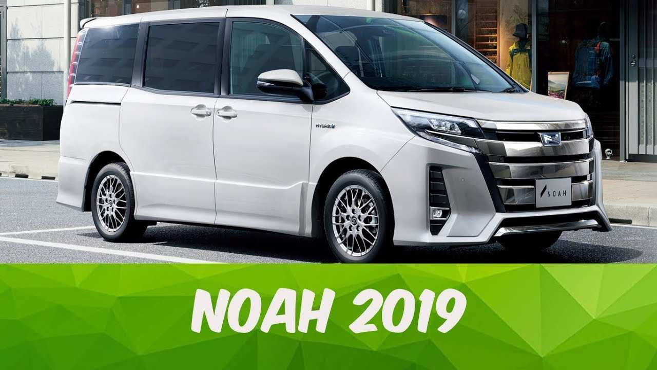36 All New 2019 Toyota Noah First Drive