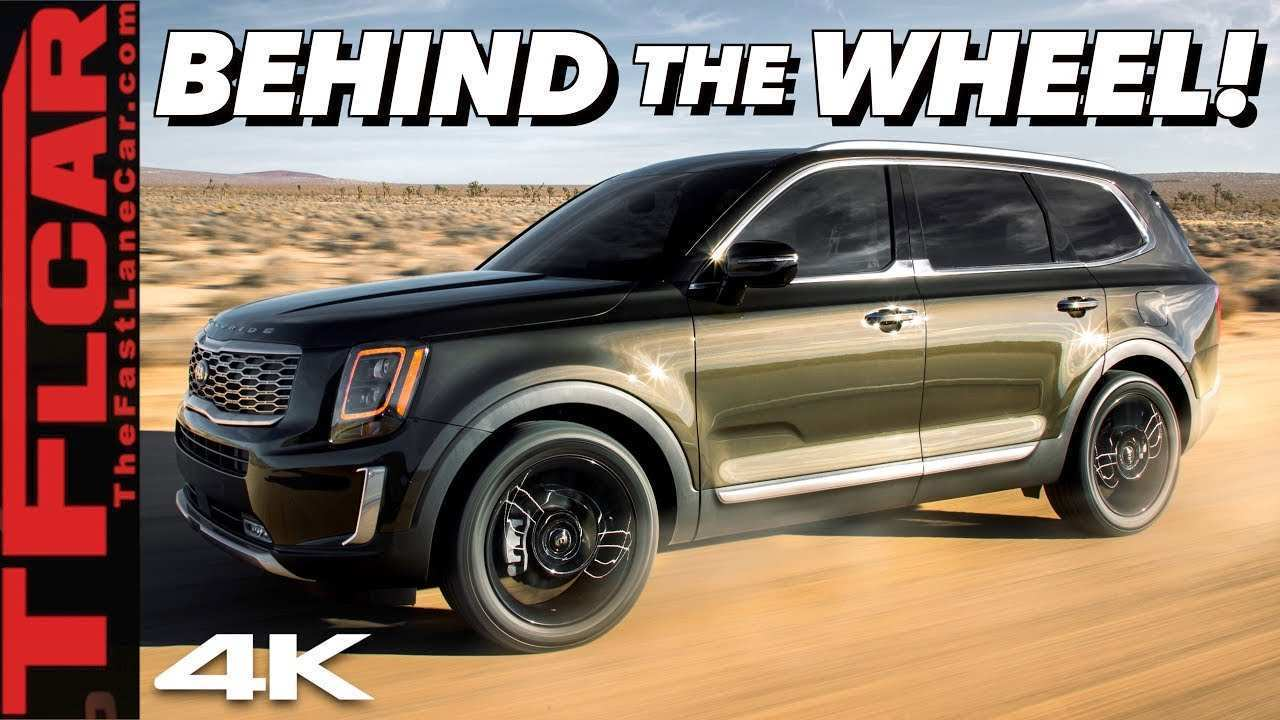 36 New 2020 Kia Telluride Youtube Spy Shoot