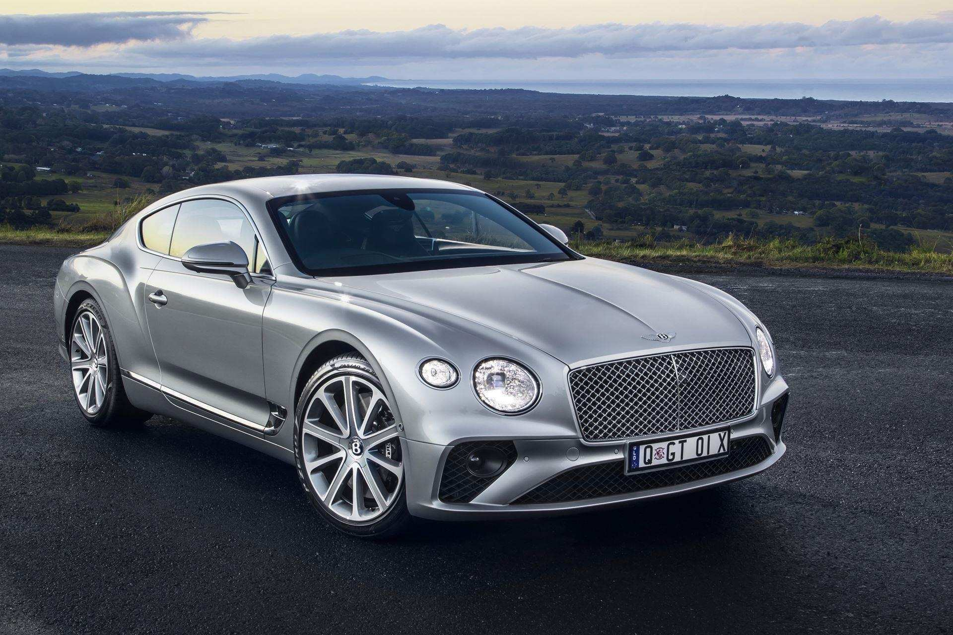 36 The 2019 Bentley Continental Gt V8 New Concept