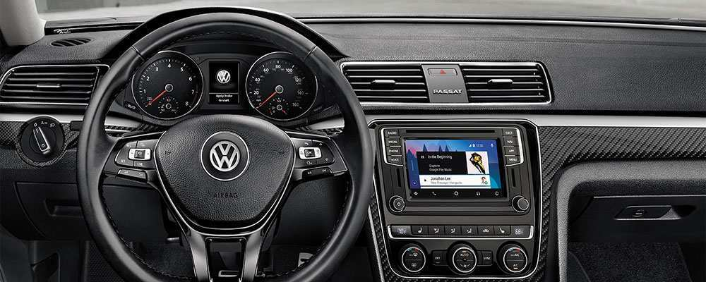 36 The 2019 Volkswagen Passat Interior First Drive