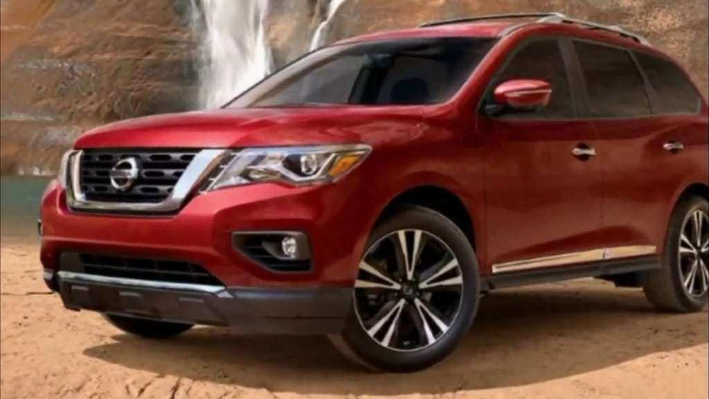 37 The 2019 Nissan Pathfinder Spy Shots Photos