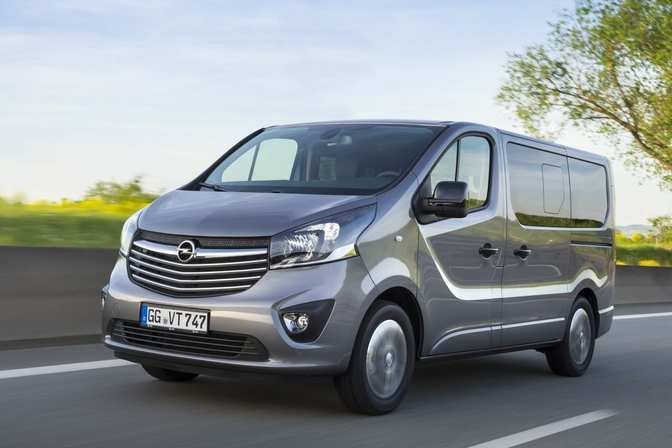 38 A Nuovo Opel Vivaro 2020 New Review