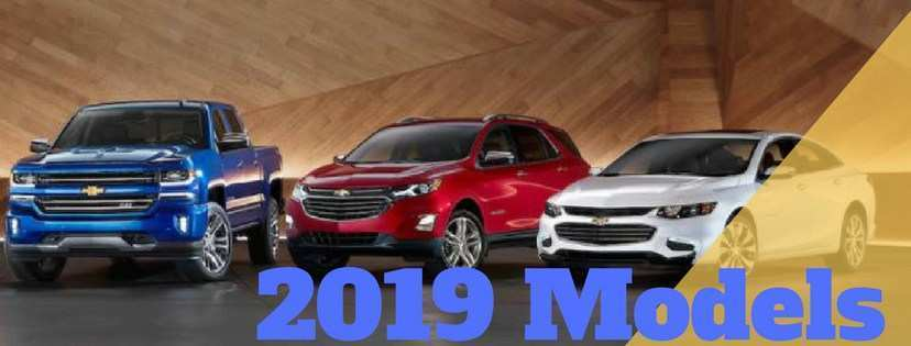 38 All New 2019 Chevrolet Lineup Wallpaper