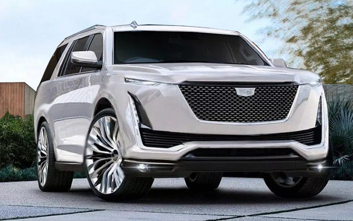 38 New 2020 Cadillac Escalade Reveal Spy Shoot