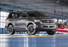 2020 Toyota Sequoia Spy Photos