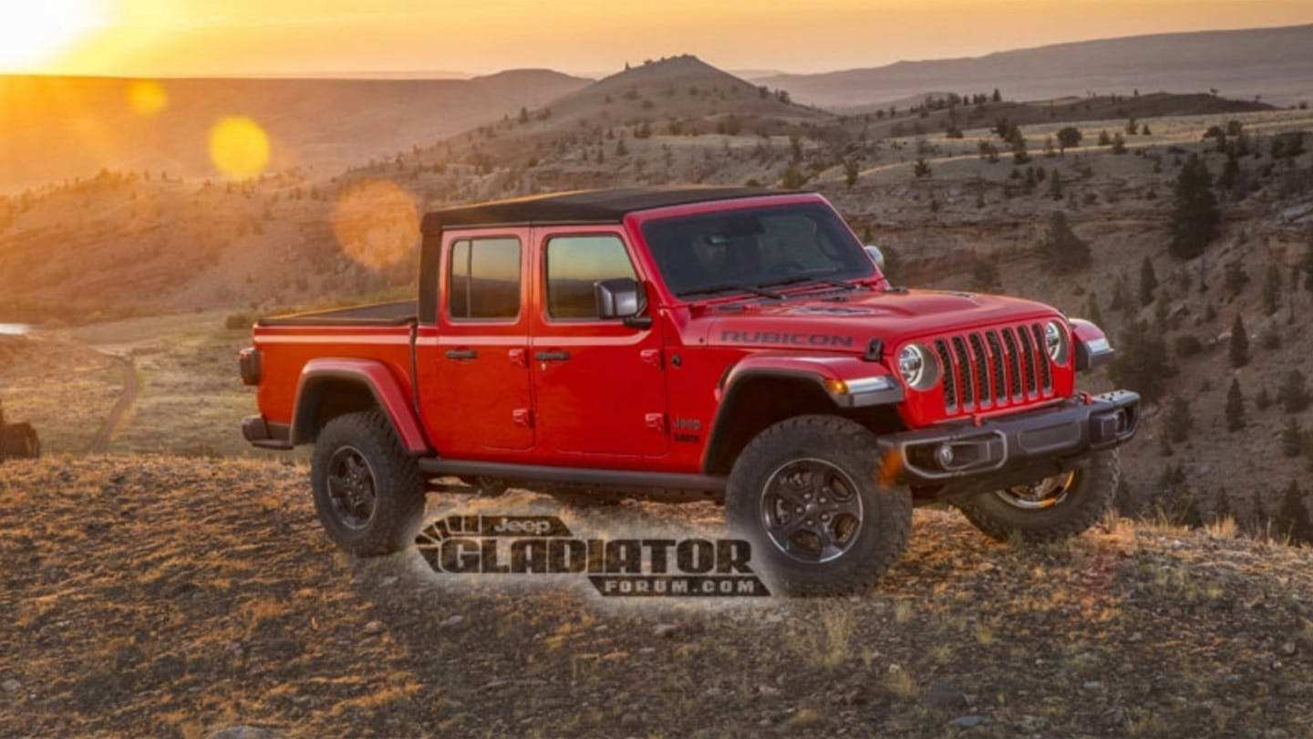 38 The Best Jeep Pickup 2020 Specs Exterior