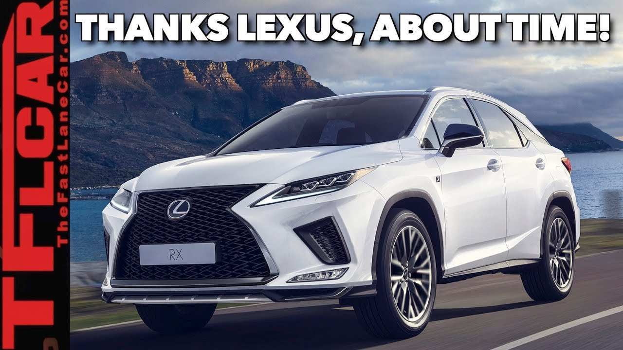 39 All New 2020 Lexus Rx New Model And Performance