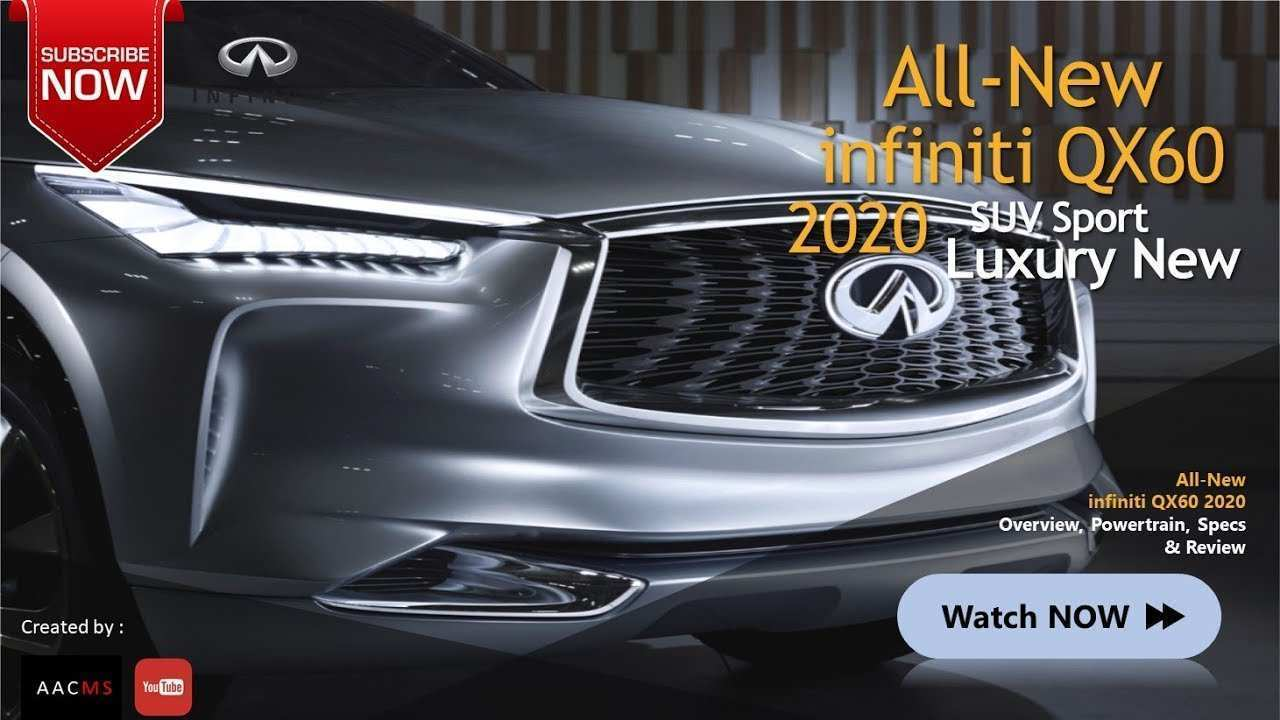 39 New New Infiniti 2020 Review And Release Date