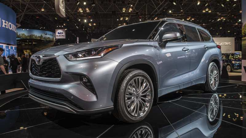 39 The Toyota Kluger 2020 Model Performance