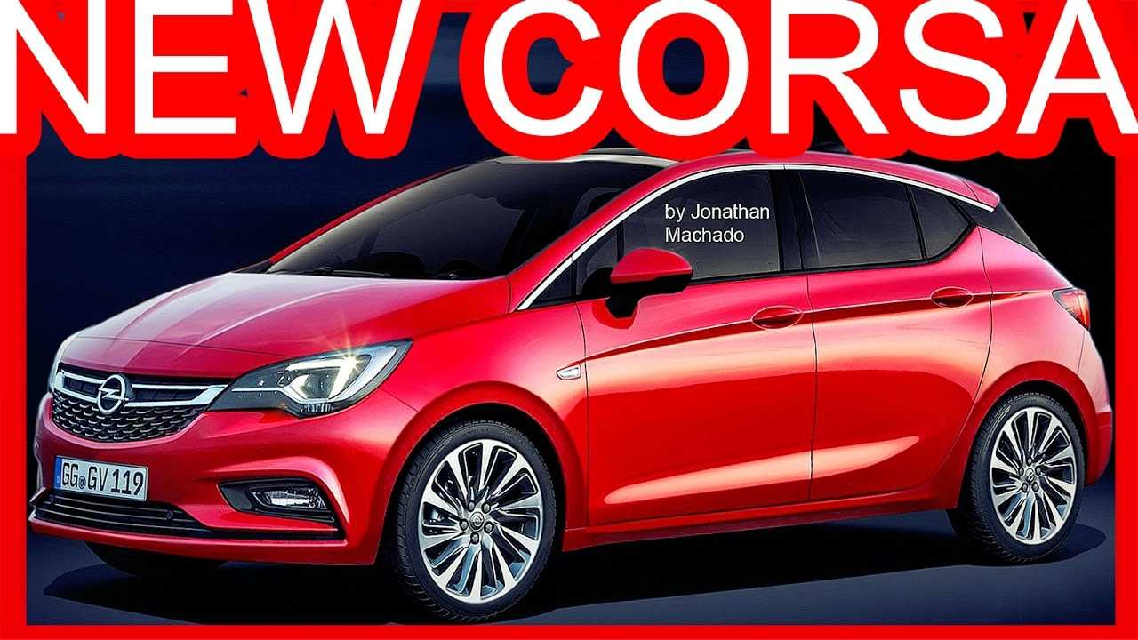 39 The Yeni Opel Corsa 2020 Spy Shoot