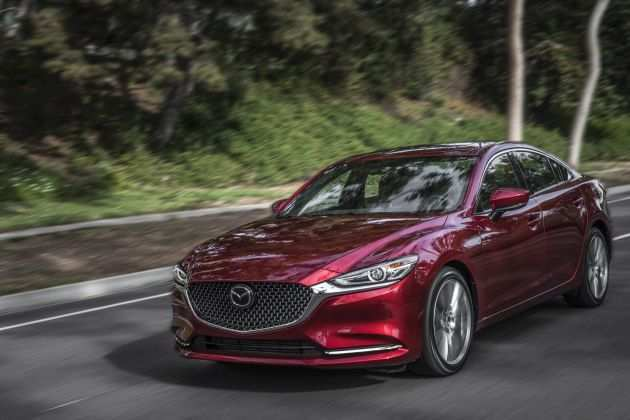 40 A When Will The 2020 Mazda 6 Be Released Spy Shoot