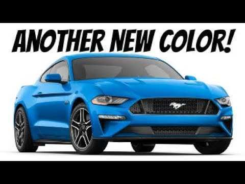 40 All New 2019 Ford Mustang Colors Release