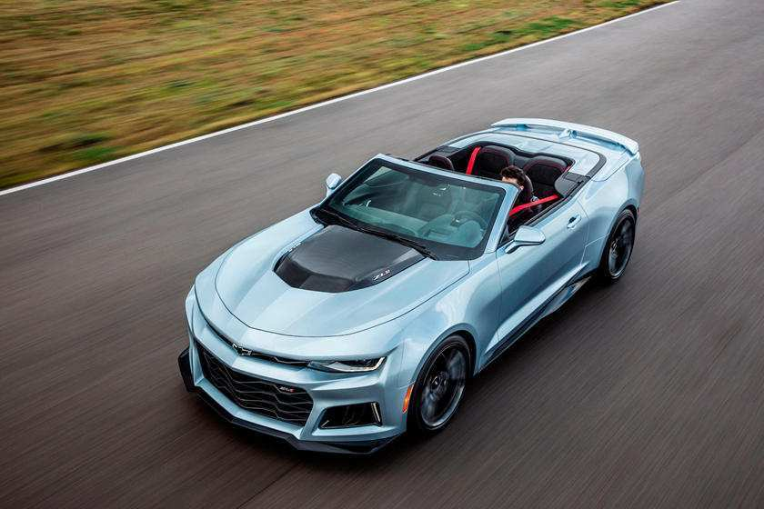 40 New 2020 Chevrolet Camaro Zl1 Concept And Review