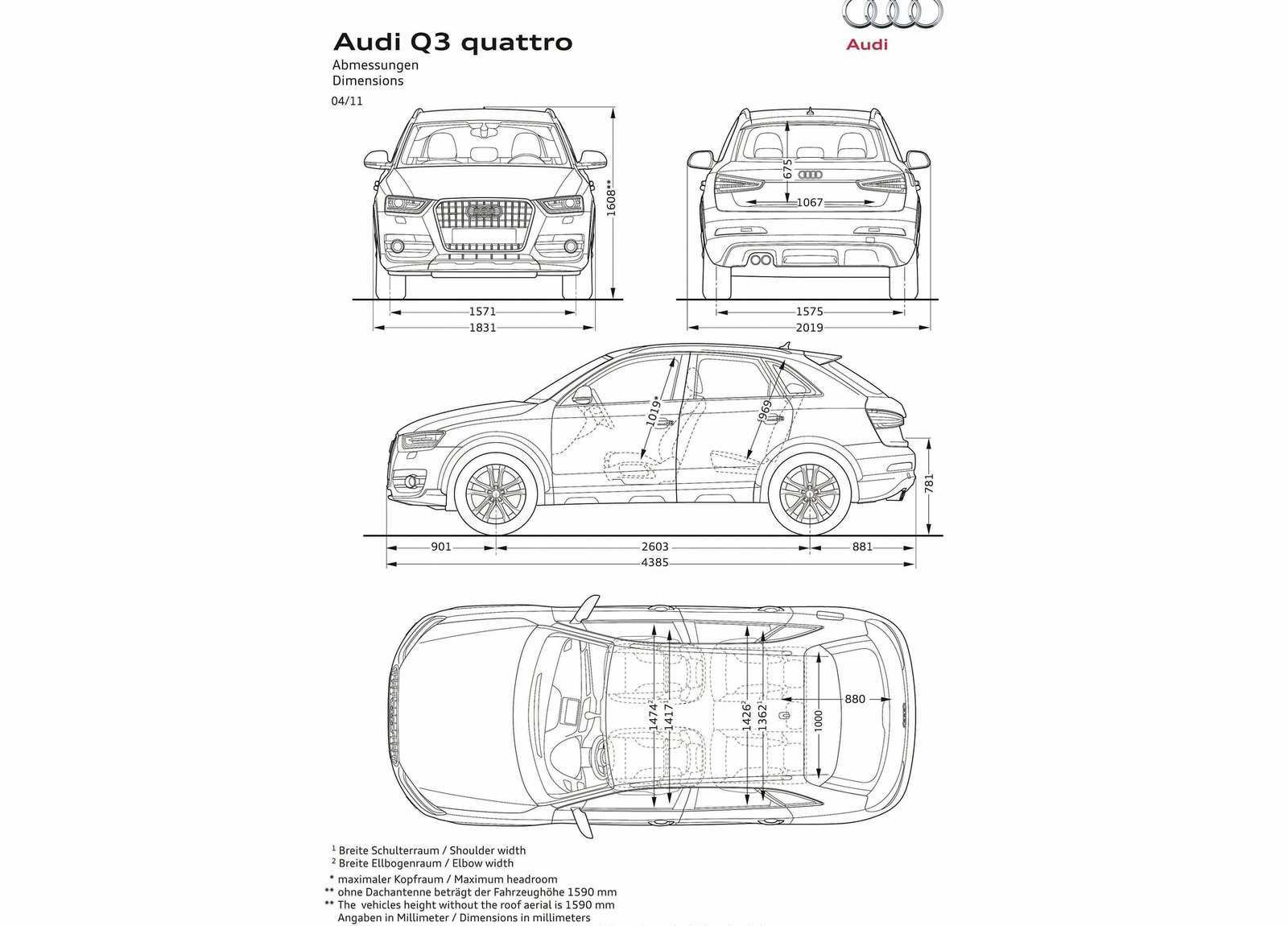 40 The Best 2019 Audi Q3 Dimensions Performance