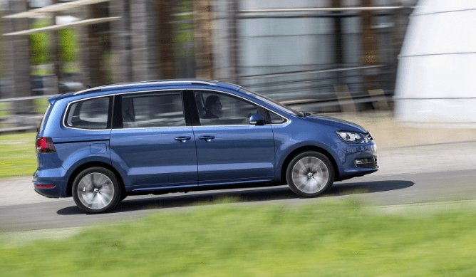 40 The Volkswagen Sharan 2020 Spesification