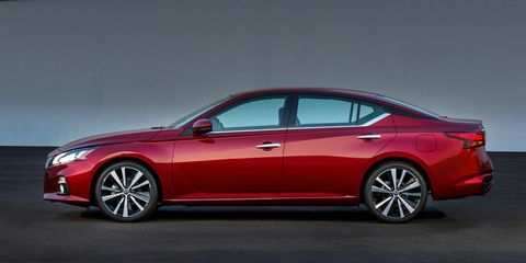 41 A 2019 Nissan Altima Rendering Images