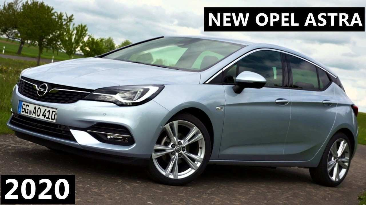 41 All New Opel Astra New Shape 2020 Redesign And Concept