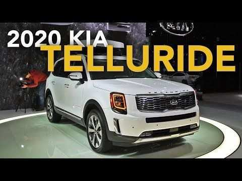 41 New 2020 Kia Telluride Youtube Concept