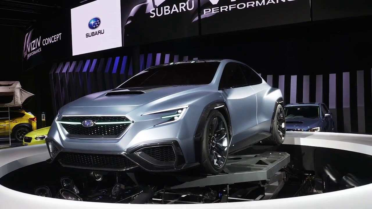 41 New Subaru Sti 2020 Concept First Drive