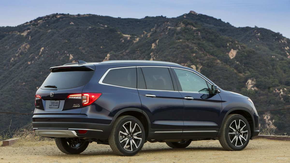 42 New What Will The 2020 Honda Pilot Look Like Redesign And Concept