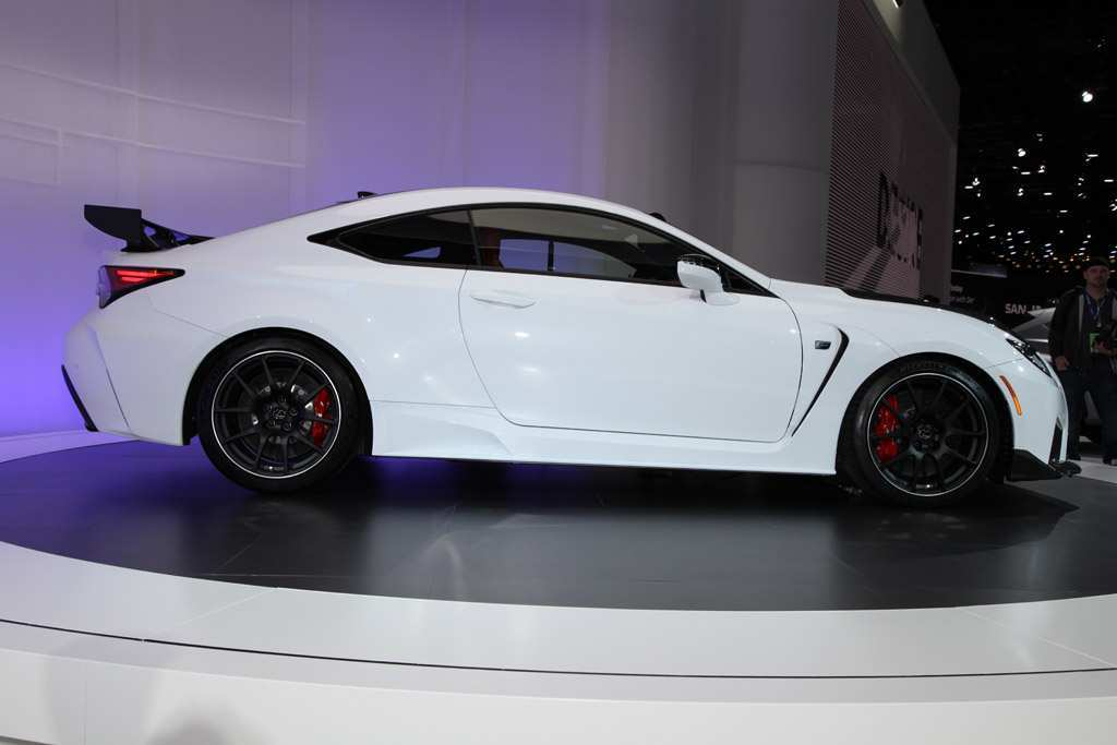 42 The 2020 Lexus Rc F Track Edition Performance