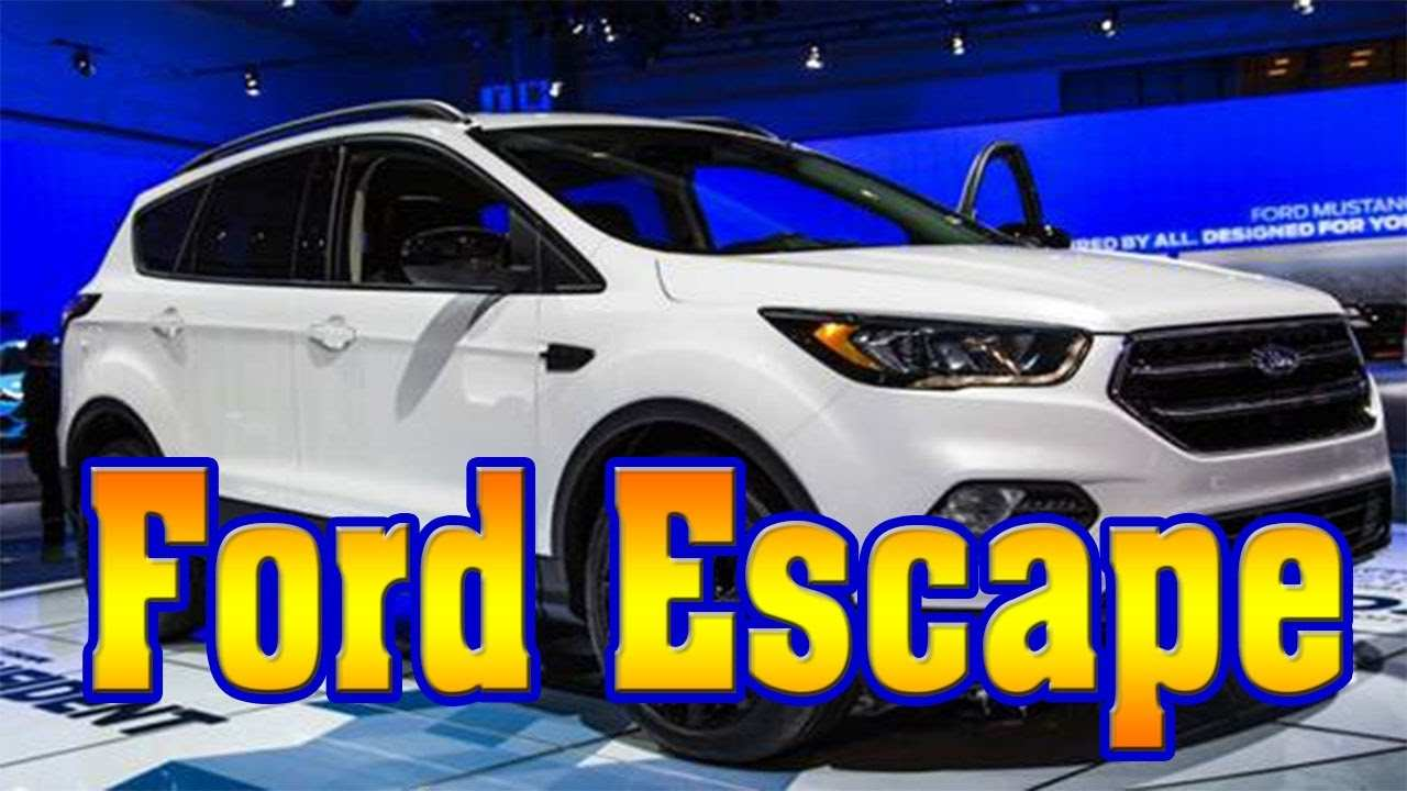 42 The Best 2019 Ford Escape Release Date Images
