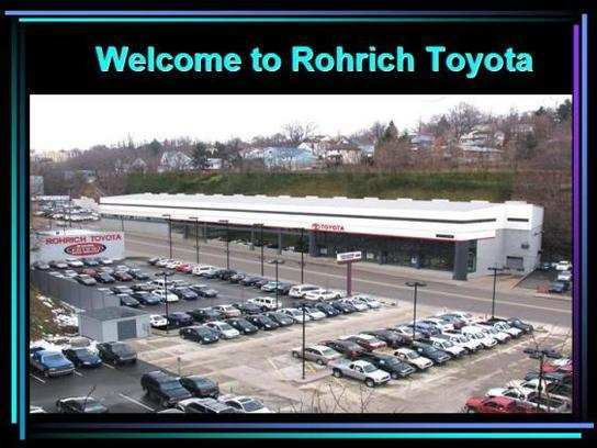 43 A Rohrich Toyota 2020 W Liberty Ave Pittsburgh Pa 15226 Exterior And Interior